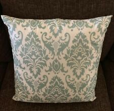 Rizzy Decorative Pillow 18 In X 18 In Green Print