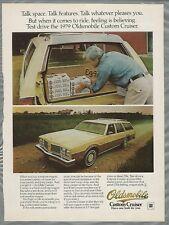 1979 Oldsmobile CUSTOM CRUISER advertisement, OLDS Custom Cruiser station wagon