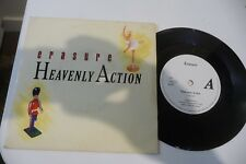 ERASURE 45T HEAVENLY ACTION / DON'T SAY NO. 7""