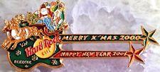 Hard Rock Cafe BANGKOK CHRISTMAS 2000 NEW YEARS 2001 DN Guitar PIN - HRC #969