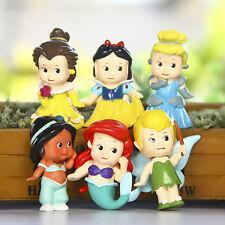 disney Tinker Bell little baby anime figure figures Set of 6pcs doll anime colle