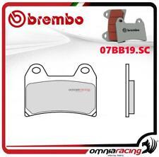 Brembo SC - fritté avant plaquettes frein MZ Muz 1000S 2001>2002