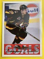 1994-95 Topps Premier Hockey Goals League Leader #151 Pavel Bure Vancouver