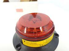 Delta Design SQ1XMV/LED 360/24 20-100VDC RED LED low profile Warning BeaconLight