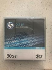 NEW HP DLT TAPE IV DATA CARTRIDGE C5141F 80GB