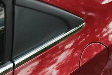 Fit Chevrolet Cruze 2011-2013 Car Far End 2 Short Pcs Window Chrome Molding Trim