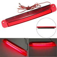Car Red 18LED 12V Car High Mount Level Brake Stop Strip Light Bar Stop Warning