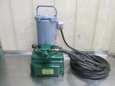 Greenlee Portable Electric Hydraulic Pump Power Unit 10000 Psi 115v 1 Ph