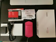 CASIO EXILIM EX-TR15 TR350 HIGH SPEED DIGITAL CAMERA Wireless VIVID PINK