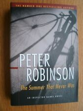 Peter Robinson Summer that Never Was 1st Canadian Ed SIGNED HC Fine