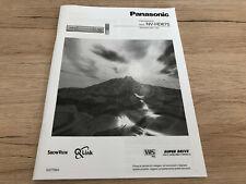 Originale Panasonic Bedienungsanleitung für NV-HD675 ITALIENISCH
