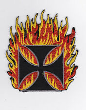 CHOPPERS     PATCH   ECUSSON  Patch thermocollant   FLAMMES
