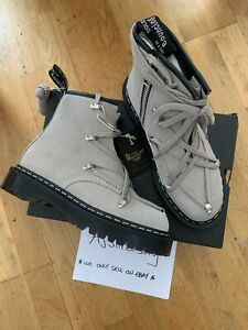 RICK OWENS X DR MARTENS 1460 BEX TAUPE SUEDE UK6 US7 BRAND NEW 100% AUTHENTIC