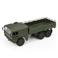 JJRC Q64 1 / 16 2.4g 6wd RC Car Military Truck Rock Crawler Car - Army Green