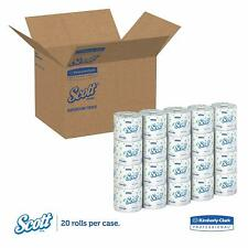 Toilet Paper Bulk Individually Wrapped Standard Rolls 2-ply 20 Rolls 550 Sheets
