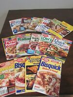 LOT of 15 Betty Crocker Booklet Cookbooks Recipes 90's-2000 Baking Main Dish