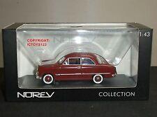 NOREV 270533 FORD TAUNUS 12M BROWN  DIECAST MODEL CLASSIC CAR