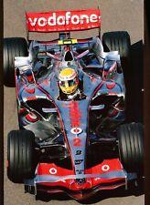 Formula 1 - LEWIS HAMILTON  in McLaren MP4-22 - 8x12 fujifilm paper - 2007