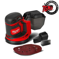 "Milwaukee M18BOS125-0 18V 125mm (5"") Random Orbital Sander Skin Only"