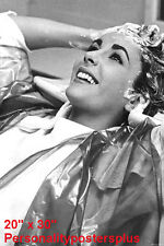 "Elizabeth Taylor~Hair Salon~Salon Decor~Shampoo~Photo~Poster~20"" x  30"""