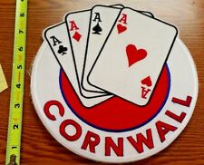 CORNWALL ACES AHL HOCKEY 1990'S JACKET PATCH IRON ON NEW