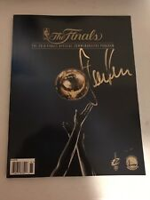 Steve Kerr Signed Autographed 2016 NBA Finals Program Coa Warriors