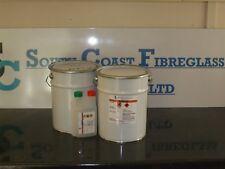 Fibreglass Resin   White Gelcoat  Marine Grade  10kg inc hardener