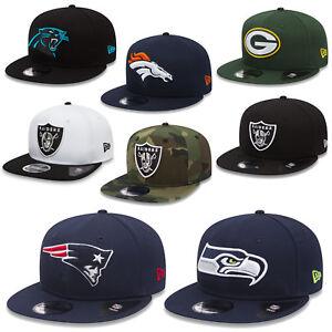 New Era 9fifty Snapback Cap NFL Team Classic 2018 Seahawks Patriots Raiders UVM