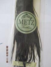 metz saddle black saddle grade 2  flytying hair feathers