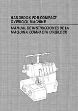 Brother UM 103D Overlock Serger Machine Owners Instruction Manual Reprint