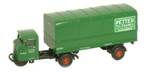 Oxford Diecast 1:76 00 Scale 76MH008 Mechanical Horse Van Trailer Southern Rly