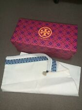 Empty TORY BURCH Storage Organization Gift Shoe Box Dust Bag