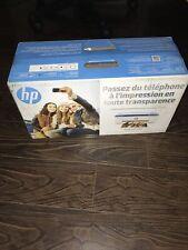 HP DeskJet 3755 All-in-One Printer (J9V90A) White Blue w/ Scanner & Photo Ink