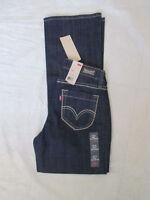 NWT Levis 529 Jeans Bootcut Boot cut Curvy Color Dark Denim 155350041-3947