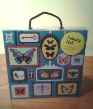 """Felicity Hall """"In the Frame"""" Butterfly Needlpoint Tapestry kit BNIB"""