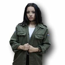 Unbranded Patternless Button-Down Coats & Jackets for Women