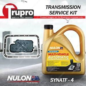 SYNATF Transmission Oil + Filter Service Kit for Mitsubishi Pajero NM NP NS NT