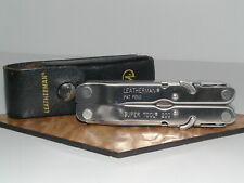 LEATHERMAN SUPER TOOL 200 RETIRED EXCELLENT CONDITION LEATHER SHEATH DATE 2004