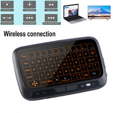 H18+ 2.4G Mini Wireless Keyboard Full Touchpad Mouse For Windows Android IOS