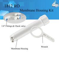 "MS® 1812 RO Membrane Housing DIY Kit,1/4"" Fittings,Check Valve,Wrench Whole Set"