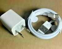 New Apple iphone Wall Charger Plug And Lighting USB Cable For 6 7 8 X XR XS Plus
