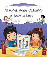 All About Wudu (Alution) Activity Book (Stickers Colouring Childrens)