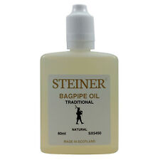 More details for bagpipe bore oil 60ml by steiner music