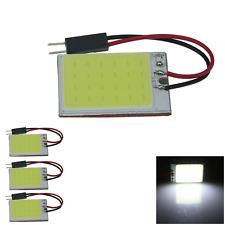 4x White Car Panel Map Light Interior Blub 24 Chips 24 COB LED T10 festoon J304