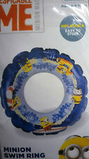 Despicable Me Minion inflatable Swim Ring (Age 3 - 6) 45 cm Diameter