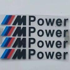 2 X Nuovo Effetto Nero Numero Licenza Piastra Telaio Titolare Surround per BMW M-Power