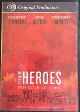 The New Heroes: Their Bottom Line is Lives--Public TV DVD Set w/ Robert Redford