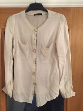 Atmosphere ladies cream blouse, size 14