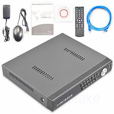 8CH Hybrid DVR NVR AHD CVI TVI CCTV IP Camera Cloud Network Security Alarm Input
