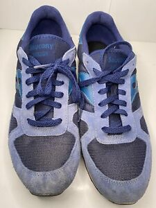 Saucony Shadow Original - S2108-595 Blue Suede Size 12 MENS Excellent Condition